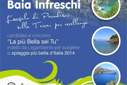 Vota Baia Infreschi la più bella d'Italia